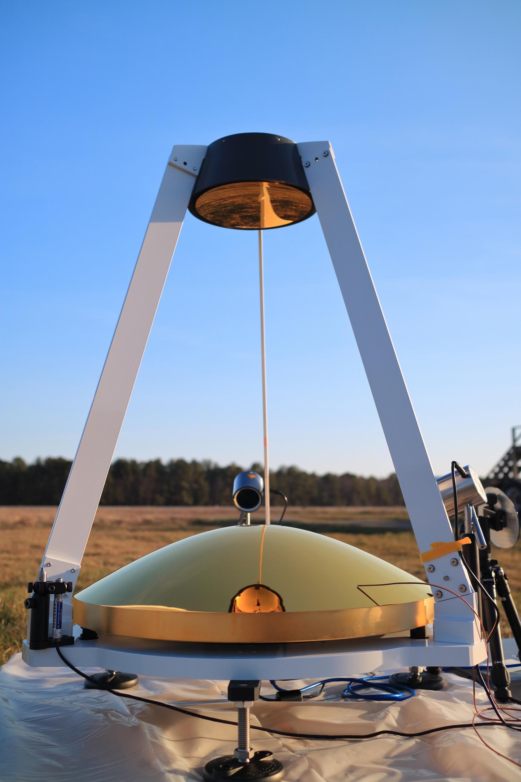 mamba meteorological atmospheric measurement bolometer array