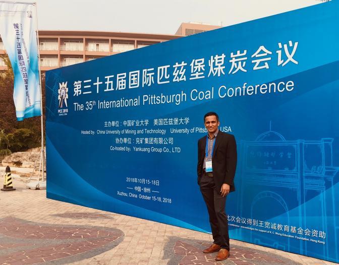 vinod pitt coal conference 2018