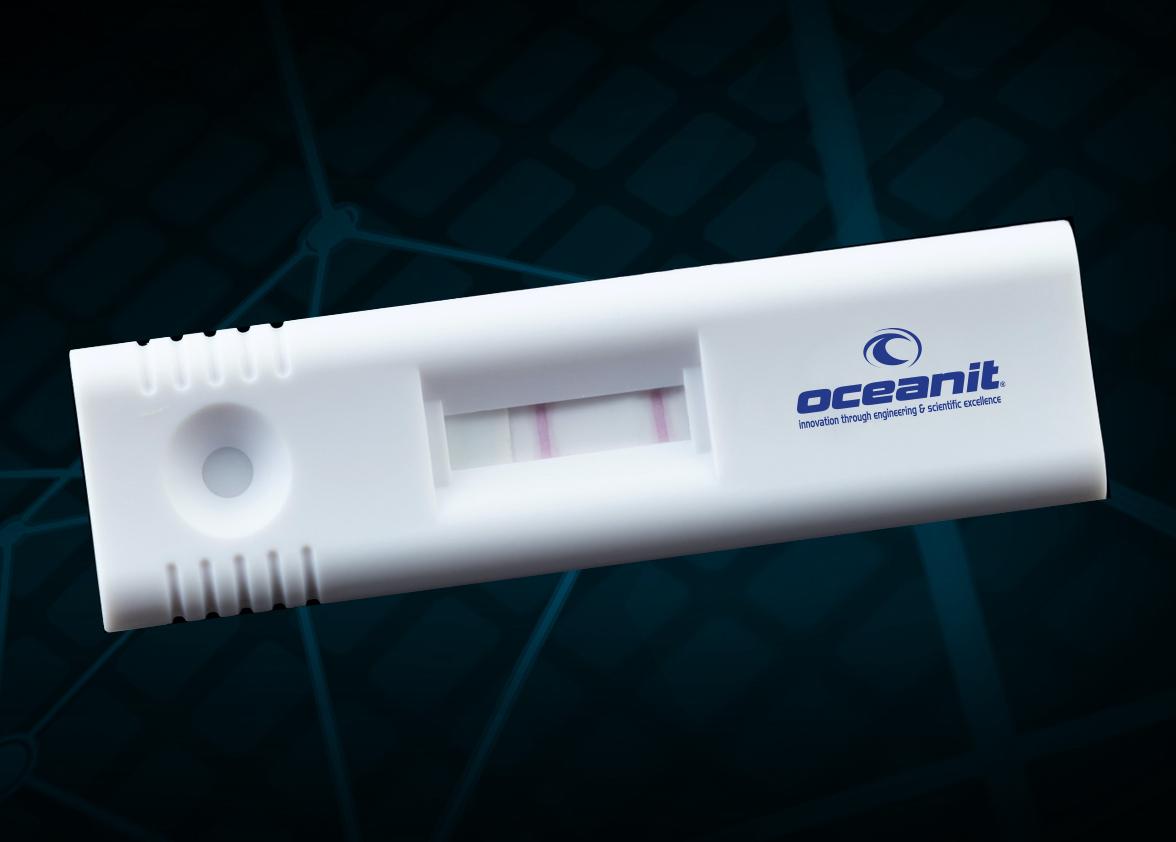 Assure19 saliva test stick