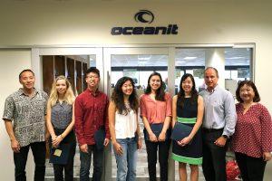 Oceanit's 2019 intern class