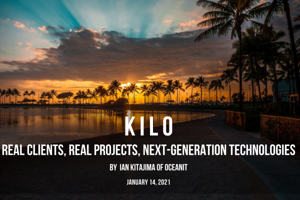 oceanit kilo intern program