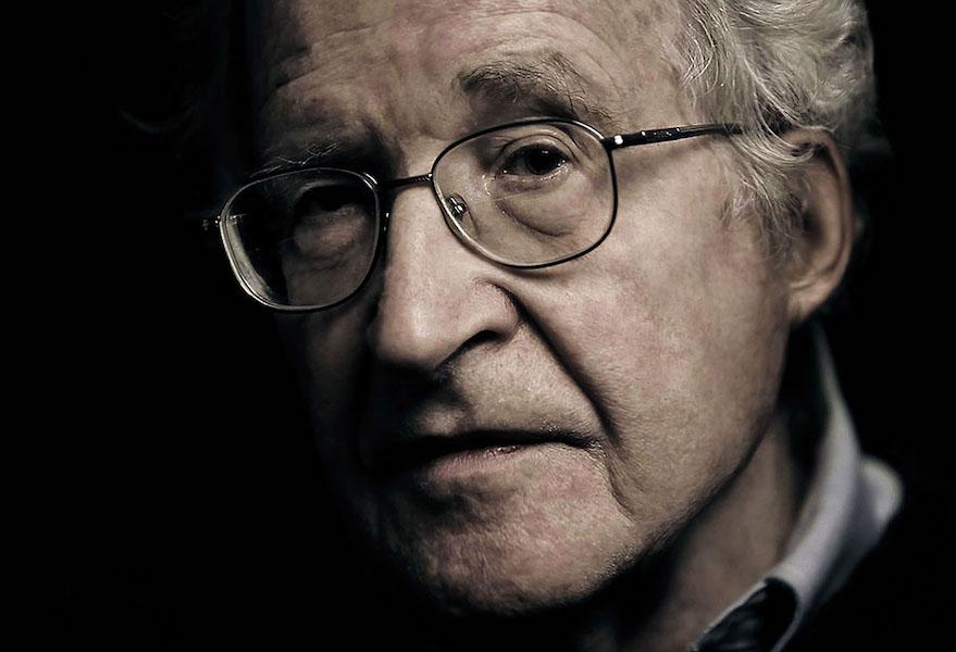 Noma Chomsky father of modern linguistics